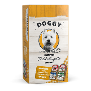 Doggy Delikatesspaté Multibox
